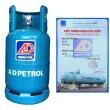 Bình gas An Dương Petrol xanh
