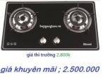 đổi bếp gas cũ  lấy Rinnai RVB - 2BG(B)